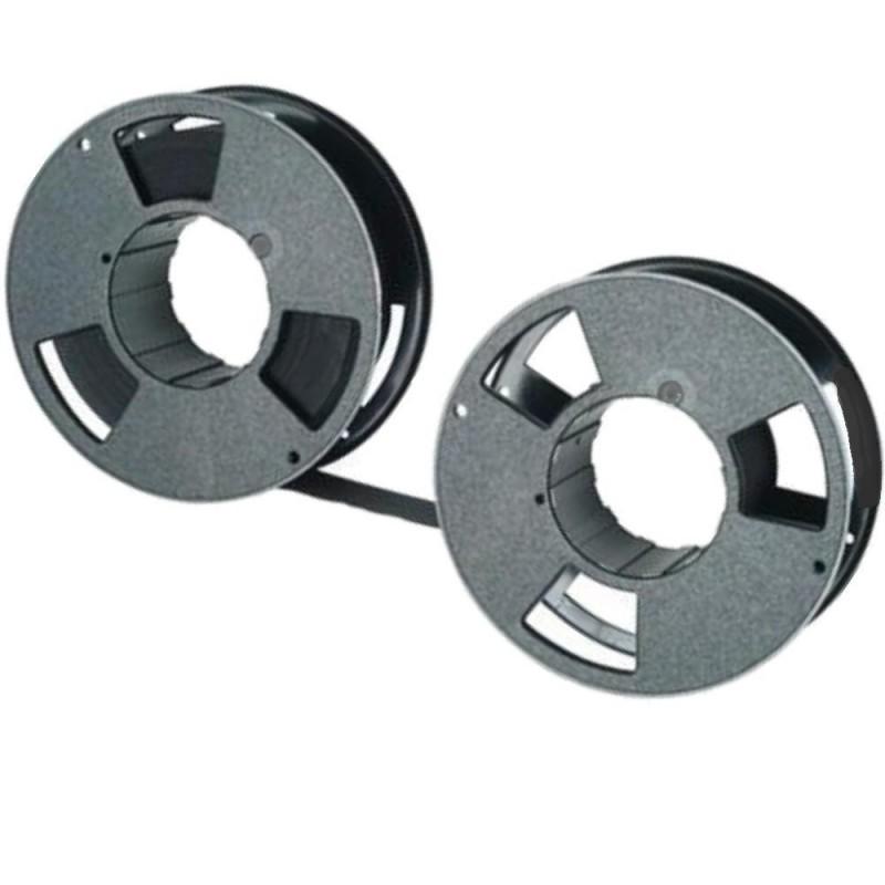 Farbband - schwarz(5.stück)-für C.Itoh CI 600 Plus GAP-(25,4mmX45m)- P 300-Fa...