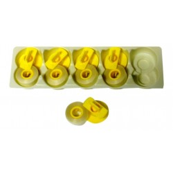 Korrekturband Lift-Off-5 Stück- für Brother EM 850 FX- kompatibel 143-C- Farb...