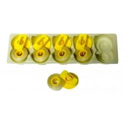 Korrekturband Lift-Off-5 Stück- für Brother CE 60- kompatibel 143-C- Farbband...