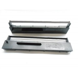 Farbband -schwarz(2.Stück)- für Seiko Precision SP 2400-Farbbandfabrik Original
