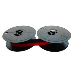 Farbband- schwarz/rot -für Olivetti Logos 270- Gr.8 Farbbandfabrik Original