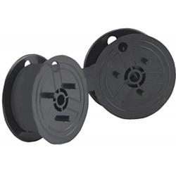 5XFarbband - schwarz- für Ibico DP 12 als Doppelspule für DP12 Gr.51- Farbban...