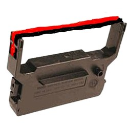 Farbband-schwarz/rot - für Panasonic JS 7000 --Farbbandfabrik Original
