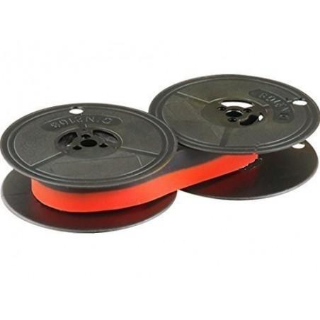 Farbband für DIN 2103 - 53mm Durchmesser - schwarz/rot- Farbbandfabrik Original