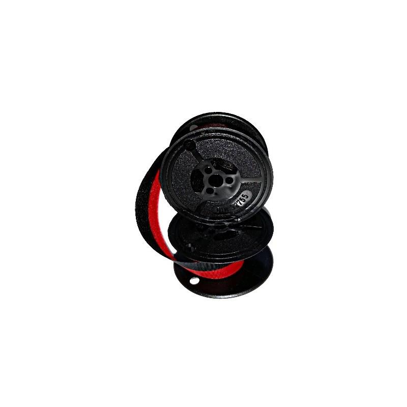 Farbband für Adler-Royal 1215 P- 40mm Durchmesser - schwarz/rot - Gr.32-Farbbandfabrik Original