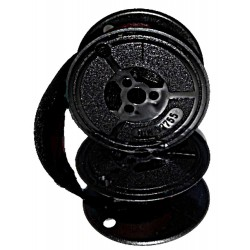 Farbband/Doppelspule für Burroughs 4125- 40mm Durchmesser - schwarz- Gr.32-Farbbandfabrik Original
