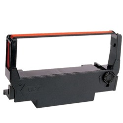 Farbband -EPSON ERC 30/34/38 -für Epson TM 300 C - Farbbandkassette- schwarz/rot (5 Stück) -Direkt vom Hersteller
