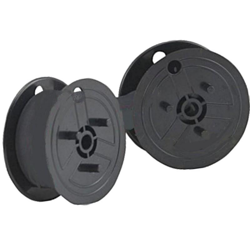 5XFarbband - schwarz-rot- für Toshiba BC 1266 P als Doppelspule-Toshiba BC126...